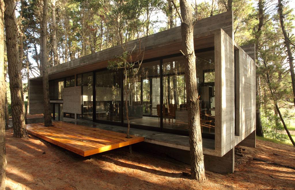 Proyecto casa cher mar azul pcia for Construccion de casas minimalistas en argentina