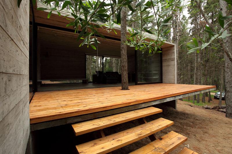 Proyecto casa jd mar azul pcia de for Casa de arquitecto moderno