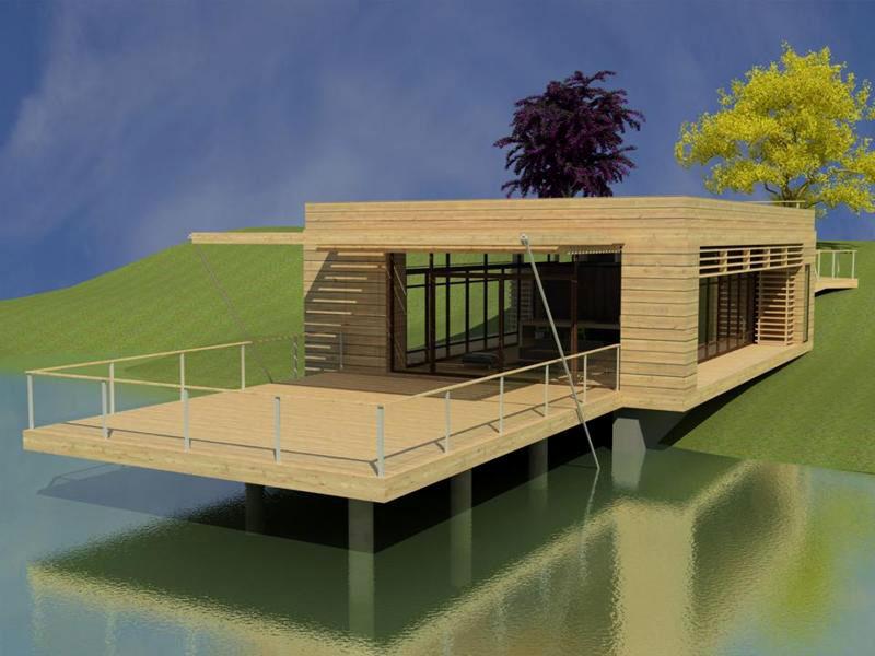 Proyecto casa muelle modelo de vivienda unifamiliar arq adriana - Precio proyecto casa 120 m2 ...