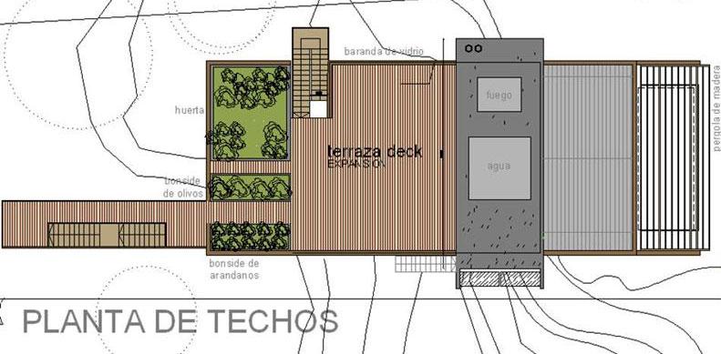 Proyecto casa muelle modelo de for Catedrales para techos de casas