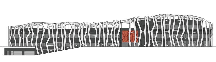 Proyecto caja vital kutxa vitoria - Alzado arquitectura ...