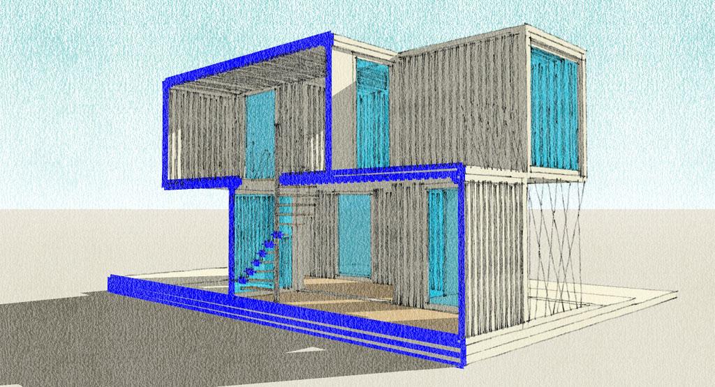 Contenedores vivienda joy studio design gallery best - Contenedores maritimos para vivienda ...