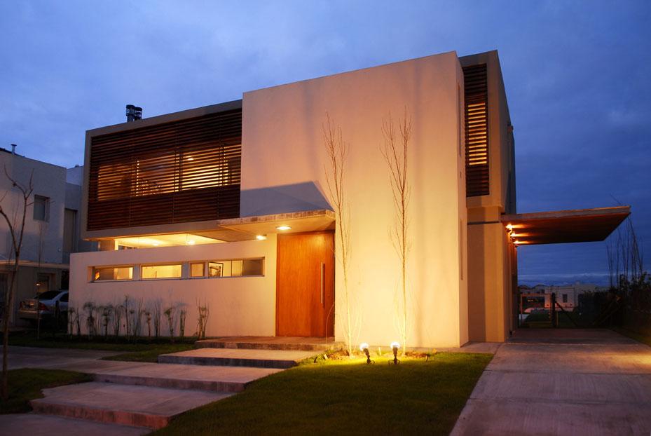 Proyecto vivienda unifamiliar miles for Casas modernas nordelta