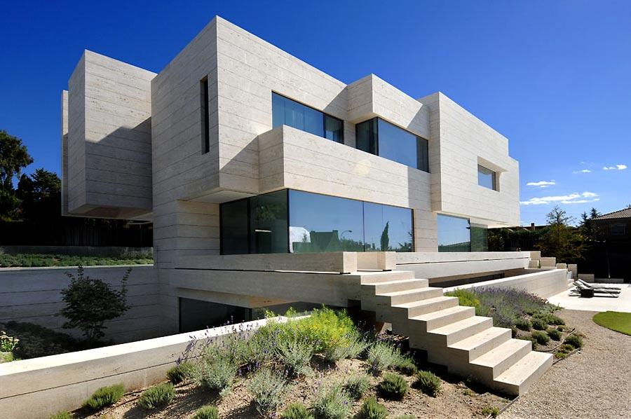Proyecto vivienda en las rozas for Aulas web arquitectura