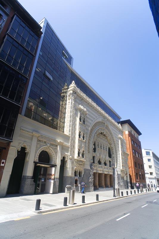 Proyecto rehabilitaci n y ampliaci n teatro campos el seos bilbao espa a - Teatro campos elisios ...