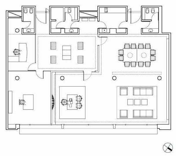 Proyecto un galp n para vivir for Diseno de oficinas pequenas planos