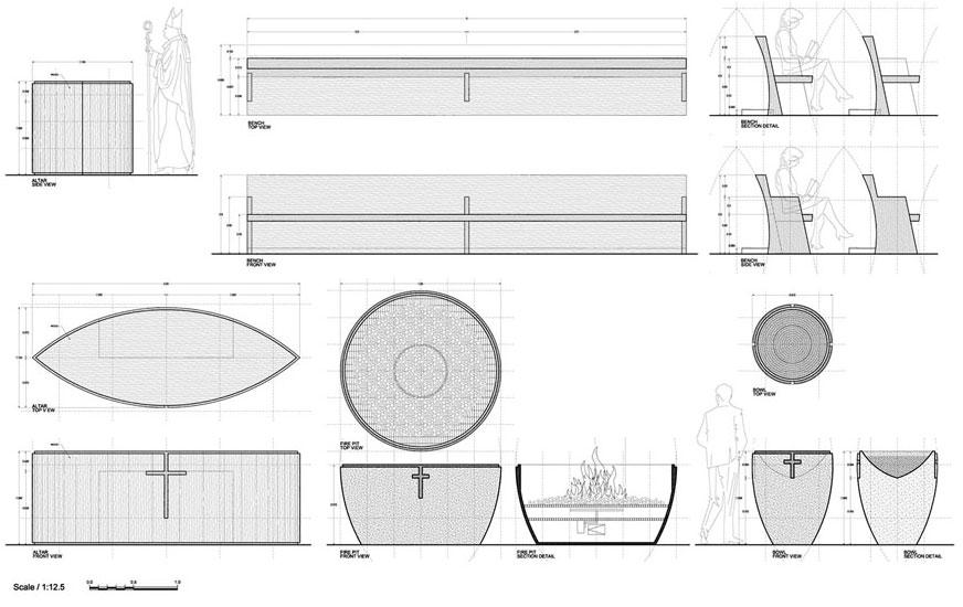 ARQUIMASTER.com.ar | Proyecto: Proyecto Concurso Iglesia de la ...