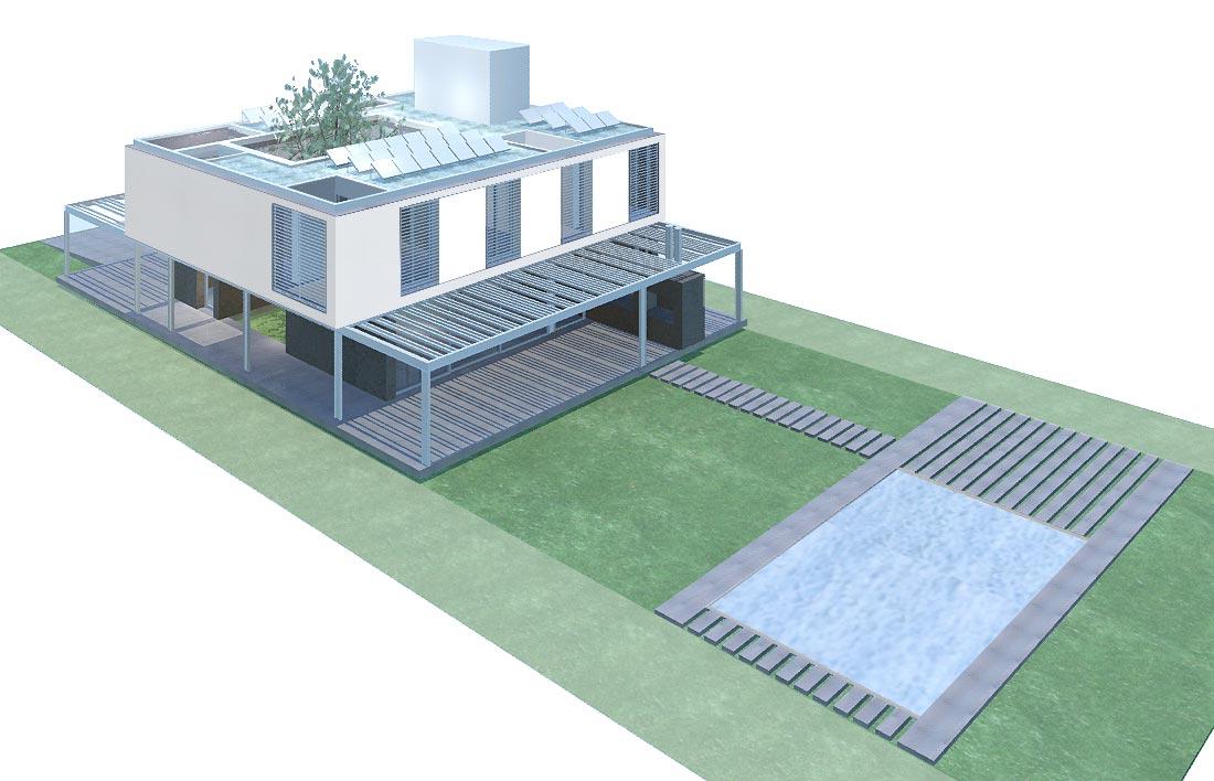 Proyecto proyecto casa sustentable for Casas ideas y proyectos