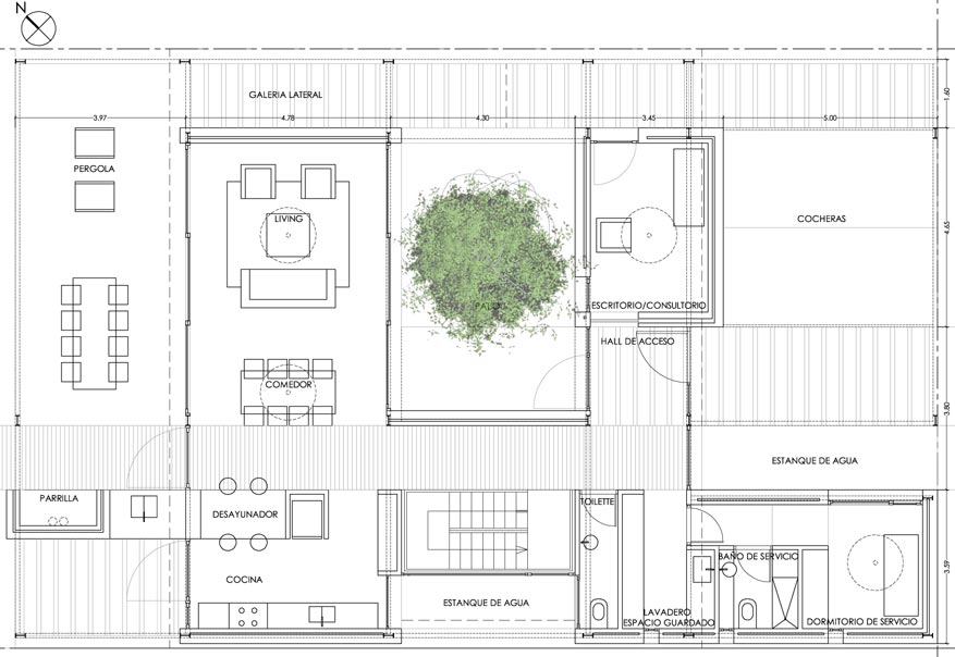 planos de casas sustentables