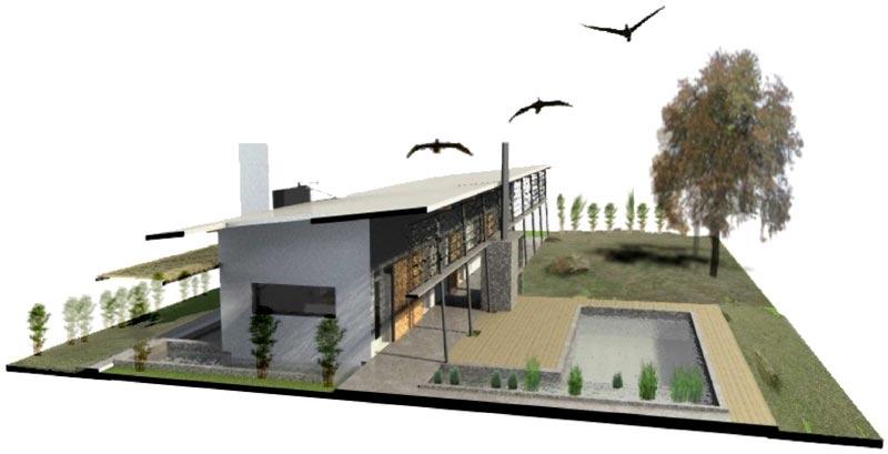 Proyecto proyecto casa sustentable for Diseno de apartamentos para estudiantes
