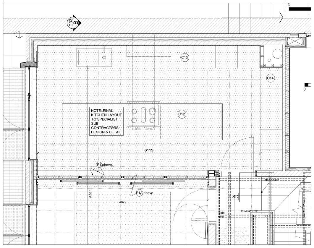 Proyecto vivienda church mount - Detalles para la cocina ...