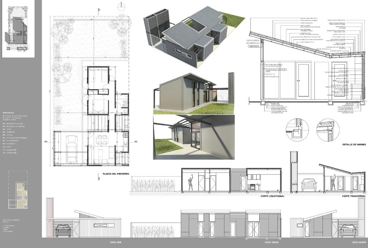 Proyecto prototipo de vivienda de for Diseno de viviendas