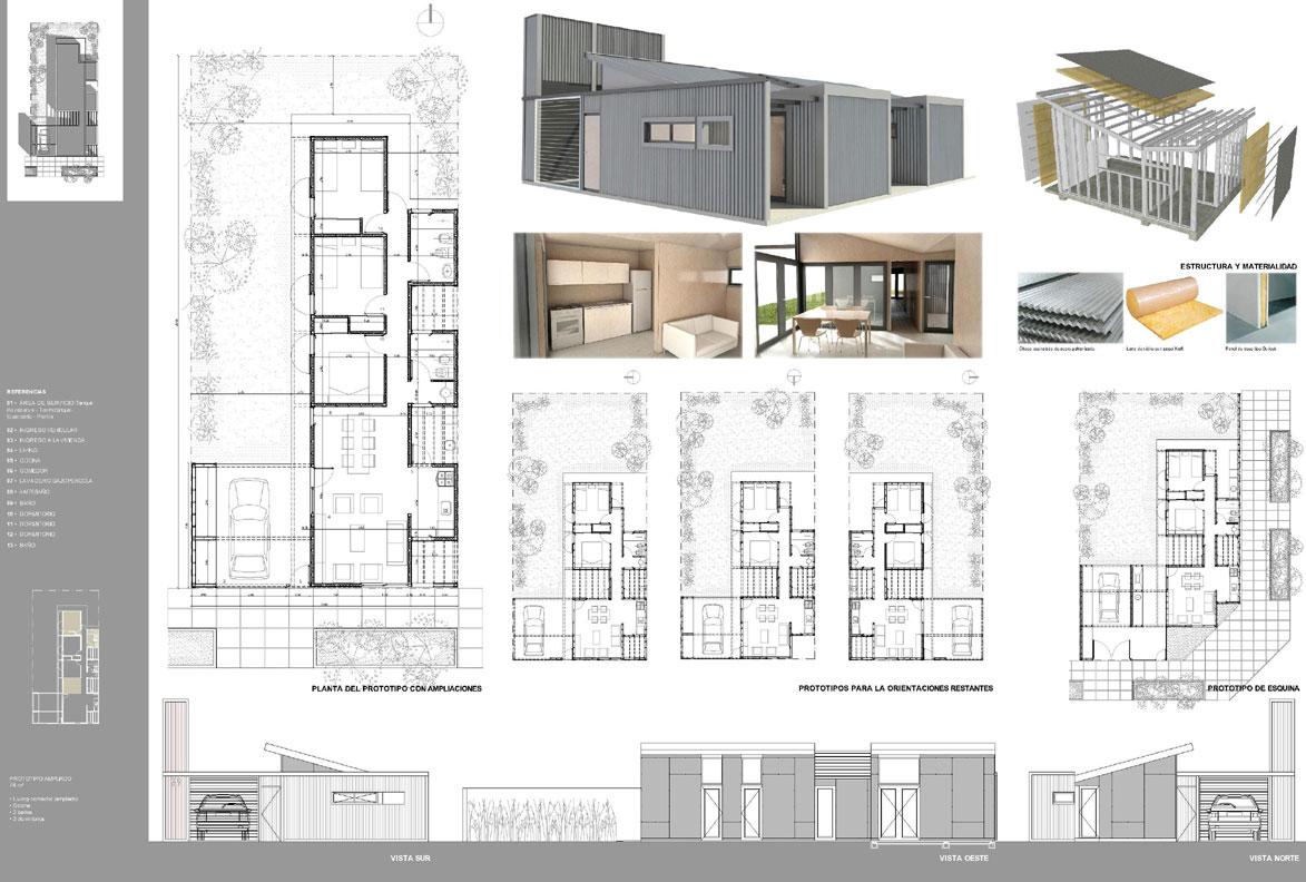 Proyecto prototipo de vivienda de for Memoria descriptiva de un colegio