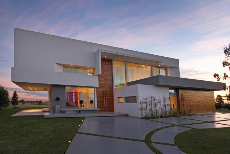 Proyecto casa en el nacional club de for Galerias casas minimalistas