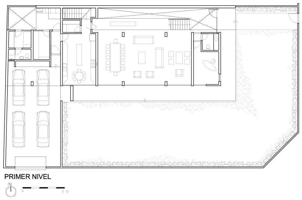 Arquimastercomar Proyecto Casa En La Encantada Lima Peru - Planos-de-casas-en-l