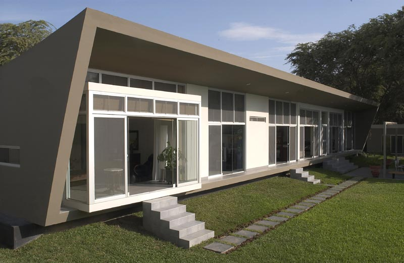 Proyecto casa de playa en el chipe for Diseno de casas de playa