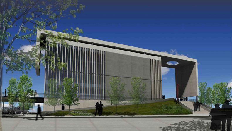Proyecto proyecto para el edificio for Parasoles arquitectura