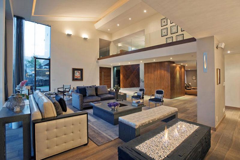 Proyecto casa lc ciudad de m xico Casas modernas grandes por dentro