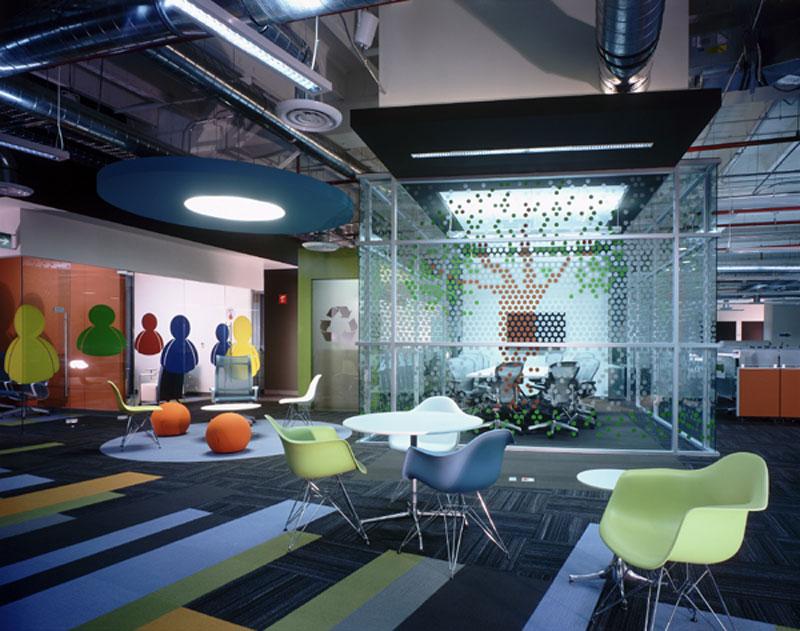 Proyecto oficinas prodigy msn santa for Iluminacion oficinas modernas