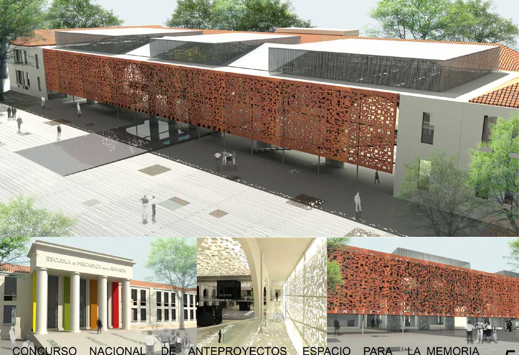 Proyecto proyecto espacio para la for Arquitectura de interiores universidades