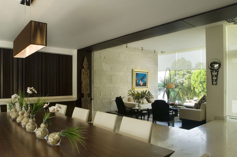 Proyecto casa sauces bosques de las for Interiores de casas contemporaneas