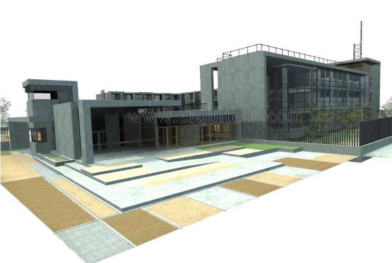 Proyecto comando distrito polic a for Genesis arquitectura y diseno ltda