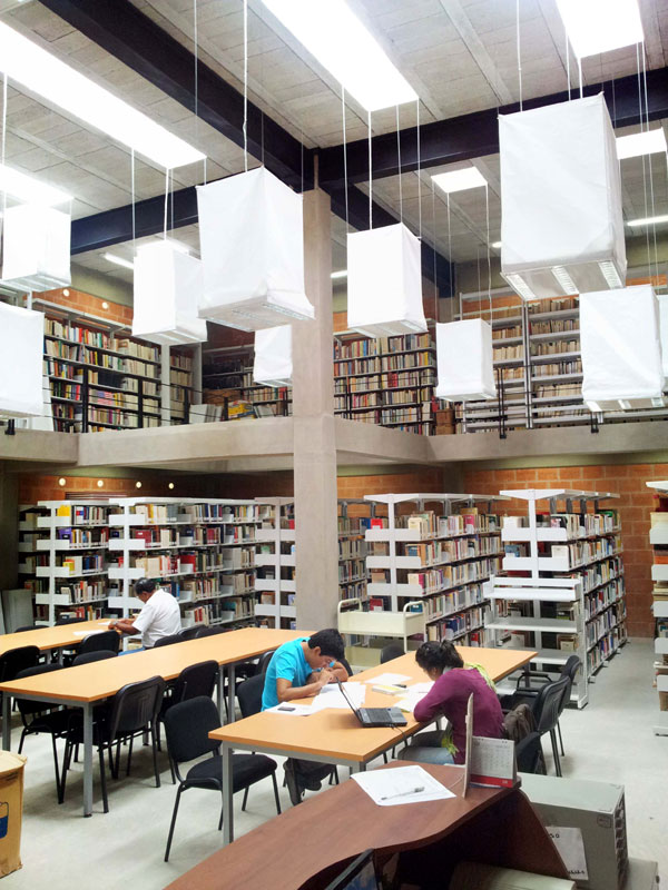 Proyecto b human biblioteca de la for Biblioteca arquitectura