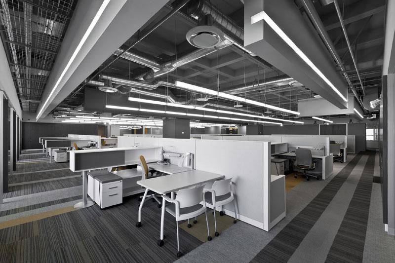 Proyecto oficinas corporativas Despachos de diseno de interiores df