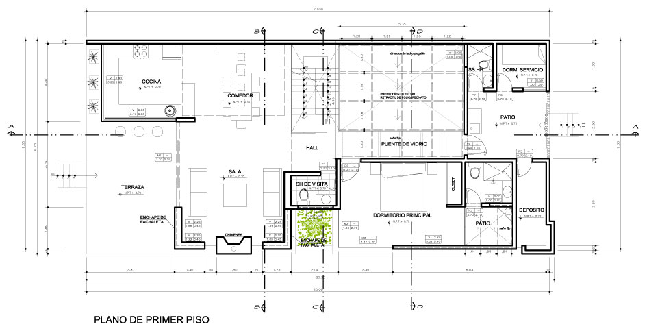 Proyecto casa viva playa gaviotas - Casas en planta baja ...