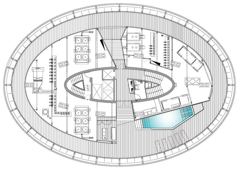 Proyecto conjunto residencial cala for Planos cocinas de hoteles