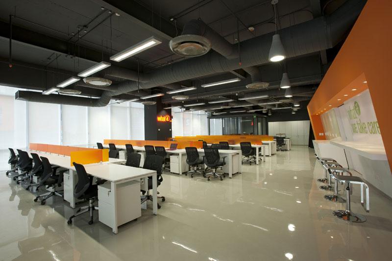 Proyecto oficinas corporativas for Diseno de oficinas arquitectura