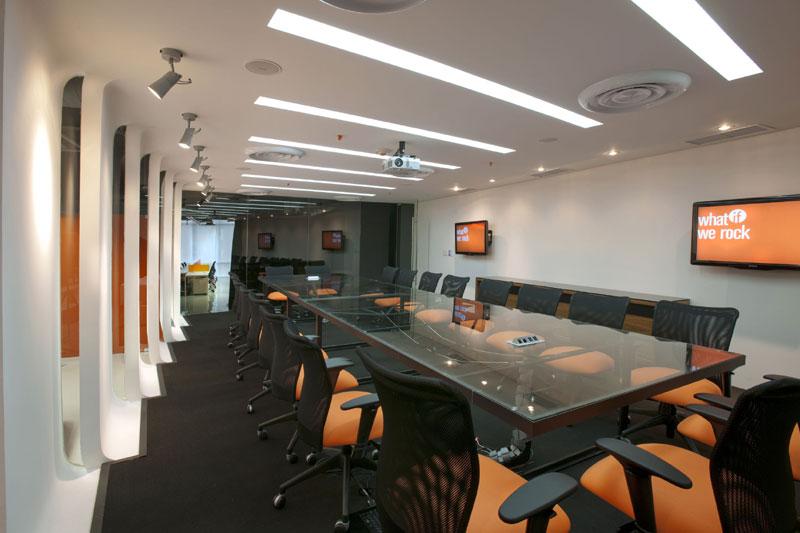 Proyecto oficinas corporativas for Arquitectura de oficinas modernas