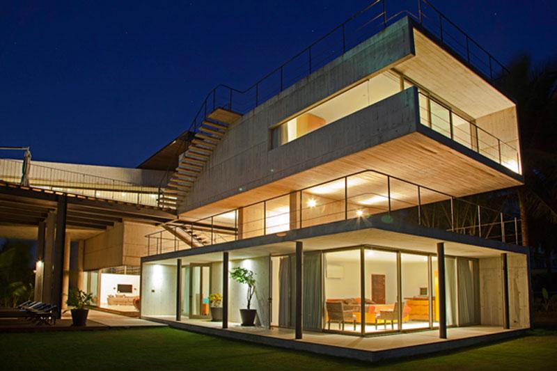 Proyecto casa de playa la caracola for Casa de diseno henry beltran