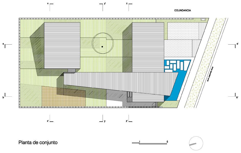Proyecto casa dauz puebla m xico for Sitios web de arquitectura