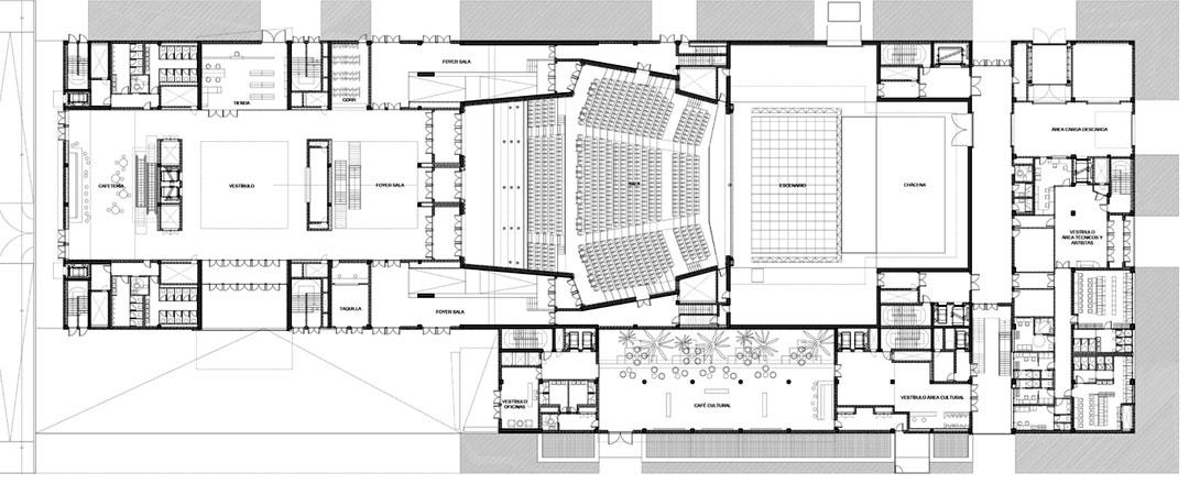 Arquimaster Com Ar Proyecto Cite Auditorio Y Centro De