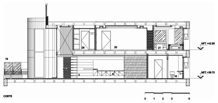 Proyecto penthouse torre a for Arquitectura nota de corte
