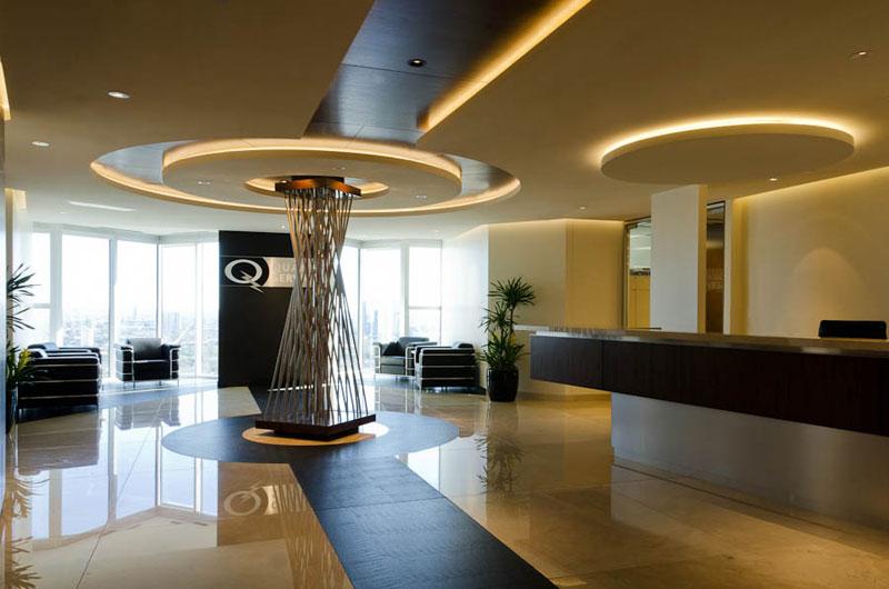 Proyecto oficinas corporativas for Diseno de oficinas administrativas
