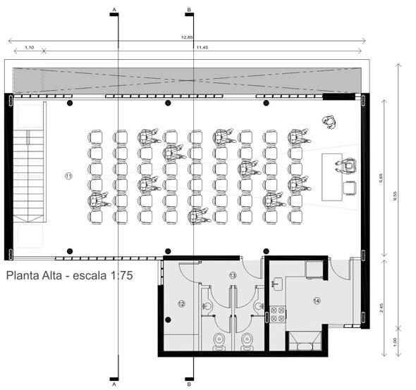 Proyecto proyecto colegio de for Plantas de colegios arquitectura