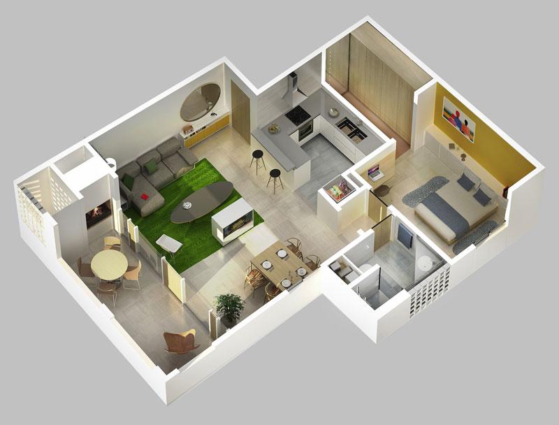 Proyecto condominio de viviendas for Constructoras de viviendas