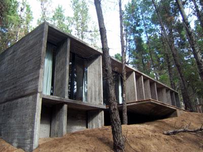 Proyecto casa de hormig n bosque de mar azul bak arquitectos web de - Casas de hormigon prefabricado precios ...