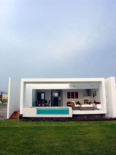 Proyecto casa frente al mar club de for Casa moderna frente al mar