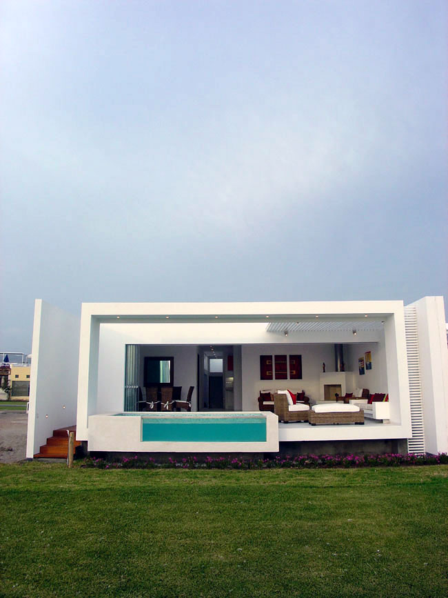 Proyecto casa frente al mar club de for Diseno de casas de playa