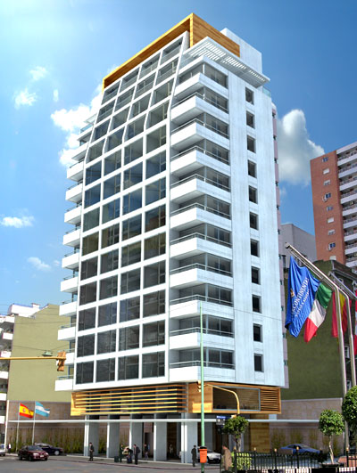 Proyecto lanchid suites apart hotel for Arquitectura de hoteles