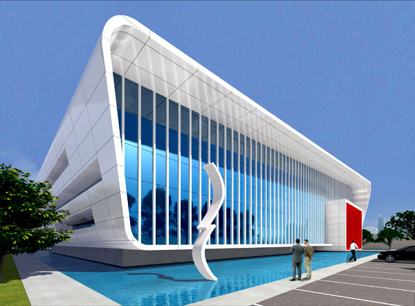 Proyecto proyecto edificio for Aulas web arquitectura