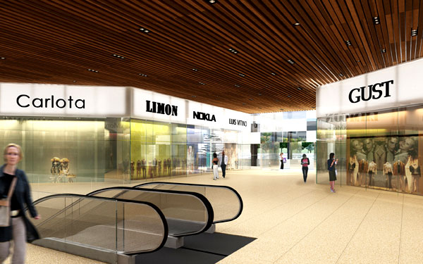 Proyecto centro comercial queretaro for Casa del diseno queretaro