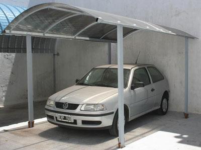 Materiales y tecnolog as curvin for Garajes para carros