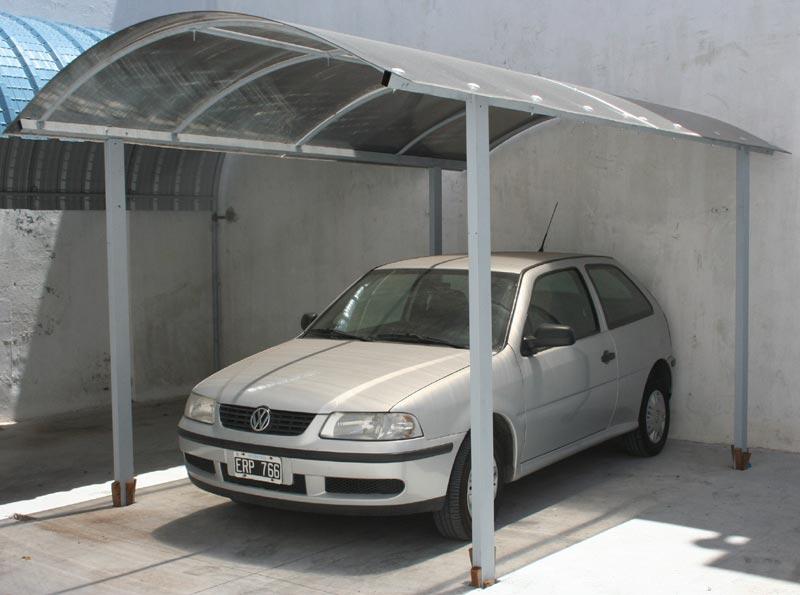Materiales y tecnolog as curvin for Modelos de techos para cocheras