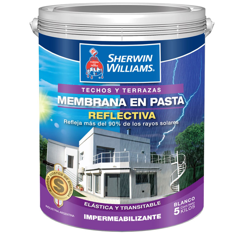 Pintura para techo sherwin williams