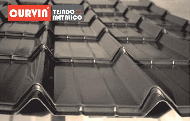 Tejados de chapa metalica finest sin imagen with tejados for Tejados de chapa