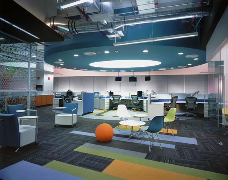 Noticias transparencia y dinamismo for Diseno de oficinas arquitectura